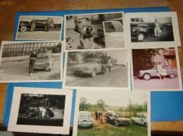 8 Photos Originales Anciennes Voitures Automobiles A Identifier - Automobiles