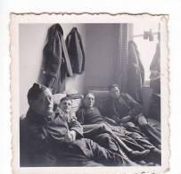 20982- 7 Photo Originales 2 De 5x3 & 4 De5x5cm, 1 De 7x5cm, Belgique,1940, Militaire Soldat - Guerre, Militaire