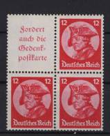 Deutsches Reich ZD S 102 / W 45 ** postfrisch