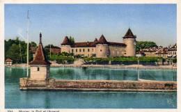 SUISSE  MORGES  Le Port Et L'Arsenal - VD Vaud