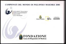 ITALIA 2010 - FIVB MEN'S VOLLEYBALL WORLD CHAMPIONSHIPS  - FOLDER OF 25 POSTCARDS - MODENA ORGANIZING COMMITTEE - Volleyball