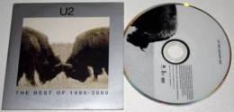 U2 : Best Of 1990 - 2000 * Rare DVD Promo 4 Tracks/titres - Rock