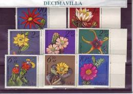 POLONIA, FLORES DE CACTUS, 1981, 2599/06, FLVA147 - Cactus