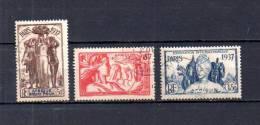 Africa Ecuatorial Francesa    1937  .-   Y&T  Nº    30/32 - A.E.F. (1936-1958)