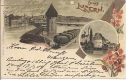 4986 - Litho Gruss Aus Luzern - LU Lucerne