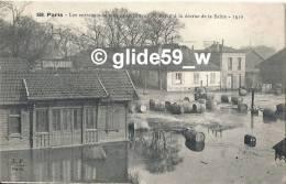 PARIS - Les Entrepots De Vins Et Spiritueux De Bercy à La Décrue De La Seine - 1910 - N° 508 - Alluvioni Del 1910