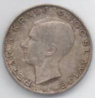 JUGOSLAVIA 20 DINARI 1938 AG - Yugoslavia