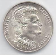 FRANCIA 100 FRANCS 1984 AG - MARIE CURIE - Commemorative