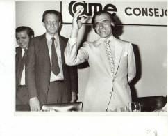 7/12/1988 JOSE FERNANDEZ  FOTOGRAFO AGENCIA TELAM FOTO DE PRENSA GRANDE 25X20 CM ORIGINAL OHL - Famous People