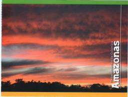 Lote PEP326, Colombia, Postal, Postcard, Amazonas, Amazon, Atardecer, Sunset - Colombia