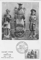 "Carte Maximum  "" Saint Yves De Treguier 19.05.1956 - 1950-59"