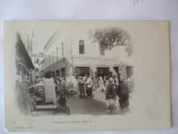 ALGERIE - CHI - CONSTANTINE - PLACE NEGRIER - CARTE PRECURSEUR - Constantine