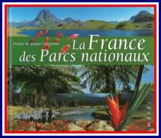 """Prix à La Poste = 15.24 €, Livre Timbré """" LA FRANCE DES PARCS NATIONAUX """" - Briefmarken"""