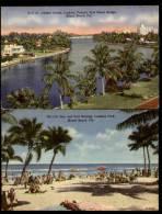 MIAMI BEACH - Lot 2 CPA  - Sun And Surf Bathing Lummus Park - Indian Creek, Looking Toward - Miami Beach