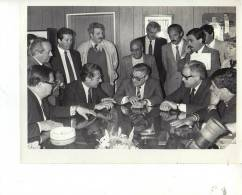 1/11/1988 HALIASZ  FOTOGRAFO AGENCIA TELAM FOTO DE PRENSA GRANDE 25X20 CM ORIGINAL OHL - Famous People