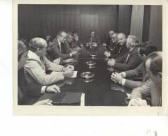 27/7/1988   FOTOGRAFO AGENCIA TELAM FOTO DE PRENSA GRANDE 25X20 CM ORIGINAL OHL - Famous People