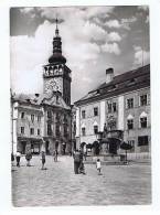 Mikulov Na Morave Mestanske Domy Farni Kostel - Tschechische Republik