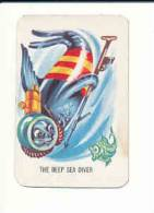 Humour The Deep Sea Diver /  Scuba Diving Humor / Chasse Plongée Sous-marine / Otarie Seal Humor Animal  // IM 79 - Vieux Papiers