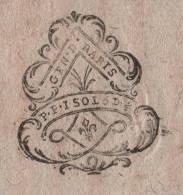 ACTE DATE DE 1789 - GENERALITE DE PARIS 1 SOL 5 DENIERS 1/2 - GEN. D. PARIS P. P. 1 SOL 5 D. 1/2 - Manoscritti