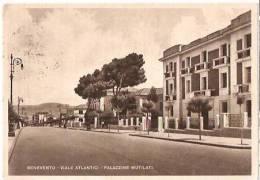 BENEVENTO - VIALE ATLANTICI - PALAZZINE MUTILATI - 1948 - Benevento