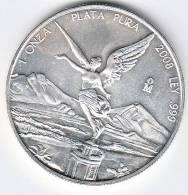 MESSICO 2008 - UN'ONCIA ARGENTO 999/1000 - México