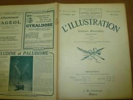 L´ ILLUSTRATION  N° 3783 Du  4 Septembre 1915 : Belle Lithographie Couleur Portrait Du Général  MAUNOURY - Journaux - Quotidiens