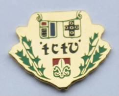 Pin's TCTV - Blasons -  Héraldique - Signification Inconnue - B1022 - Brandweerman