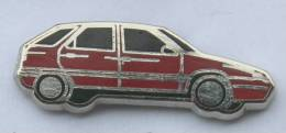 Pin's CITROEN ZX ROUGE - Zamac - Starpin's - B1052 - Citroën