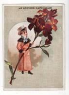 Chromo  CHAUSSURES BECANNE  à Toulouse   Homme Et Fleur - Trade Cards
