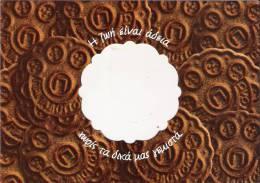 Chocolate Biscuit - Greece Postcard/carte Postale - Cartes Postales