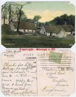 Swanston Near Edinburgh - Postcard Circa 1907 - AF - Midlothian/ Edinburgh