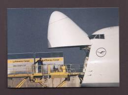 AVIONS - AVIATION - AIRPLANES - LUFTHANSA CARGO 747 - 200F - 1946-....: Moderne