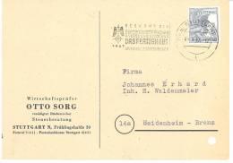 GERMANY. POSTMARK EXPORT FAIR. STUTTGART 1947 - [7] West-Duitsland