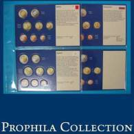 4 Münz-Tabletts Slowakei, Slowenien, Malta, Zypern - Supplies And Equipment