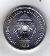 LAOS - 20 CENTS - 1952 - Aluminium SUP - Laos
