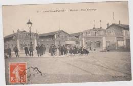 CPA 92 LEVALLOIS-PERRET   L´Abattoir  -  Place Collonge - Levallois Perret