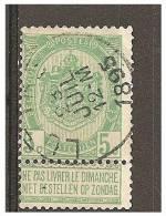 Mw-627       Ocb 56  LUTTRE - 1893-1907 Armoiries