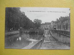 SAINTE MENEHOULD. Le Pont De Pierre Sur L'Aisne. - Sainte-Menehould