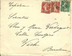 CARTA 1913 - Francia