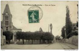 78 SAINT-NOM-LA-BRETECHE - Place De L´Eglise - St. Nom La Breteche
