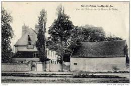78 SAINT-NOM-LA-BRETECHE - Vue Du Château Sur La Route De Noisy - St. Nom La Breteche
