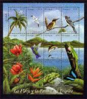 NICARAGUA   2267 MINT NEVER HINGED MINI SHEET OF WILDLIFE & ANIMALS ; FAUNA & FLORA - Stamps