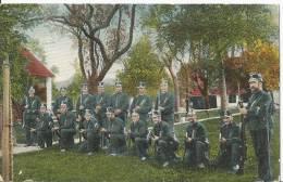 CPA 1908  Aarau Suisse  Cantonnement ,,Sentinelle  Du Cantonnement - AG Aargau