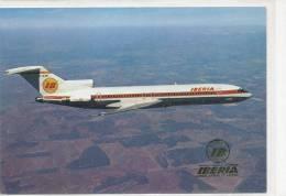ESPAGNE - Ibéria - Boeing 727 / 256 - 1946-....: Moderne