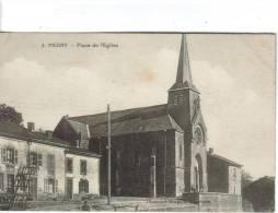 CPSM MOIRY (Ardennes) - Place De L'église - Francia