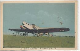 ISTRES AVIATION - Avion Bifuselage S.P.C.A  (animée ) - Aerodrome
