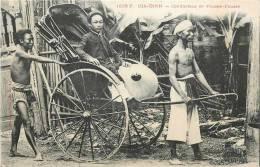 : Réf : L-12-2043  : Tonkin Gia-Dinh Conducteur De Pousse-pousse - Viêt-Nam
