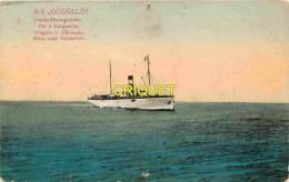 Bateaux, Le S/S GÖDÖLLÖ , Reise Nach Dalmatien, En Route Pour La Dalmatie, Carte Pas Courante - Steamers