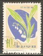 1966 Mi# 674 Used - Lily Of The Valley - Korea, North