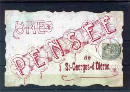 CHARENTE MARITIME  -  17-44  -  ST GEORGES D' OLERON  - UNE PENSEE DE ST GEORGES D' OLERON - Ile D'Oléron